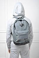 Городской рюкзак Nike серый с черным