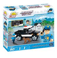 Конструктор COBI Полицейский отряд К-9, 90 деталей COBI-1572