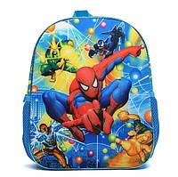 Детский рюкзак для мальчика Человек-Паук 3D
