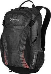 Мужской спортивный надежный рюкзак 25 л. KingCamp SPEED (KB3312) Black, черный
