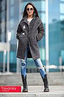 Женское стильное пальто из шерсти (2 цвета)
