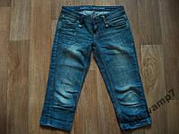 Капри бриджи джинсовые р.42-44