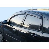 Дефлекторы окон(ветровики) Hyundai I30 c 11