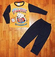 Детская пижама для мальчика Дружок желтый 2-3 лет