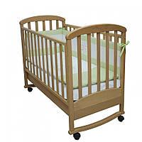 Детская кроватка Верес Соня ЛД9 бук/резьба/воздушная змей