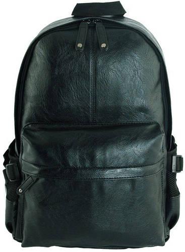 Чудесный рюкзак из искусственной кожи 15 л. Traum 7175-01, черный