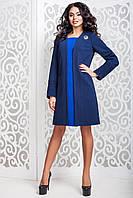 Женское демисезонное пальто ПЕЛЮСТКА р. 44-60