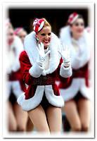 Красивый новогодний костюм-полушубок (с шикарным поясом)