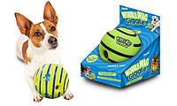 Мяч для собак Wobble Wag Giggle Хихикающий мяч, игрушка для собак