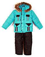 Детский зимний костюм-комбинезон Карман