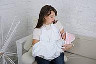 Детское полотенце Мамина забота, Банни, молочное