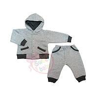 Детский теплый спортивный костюм