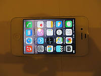 Apple iPhone 4S 32GB NEVERLOCK A1332 WHTITE ~01988