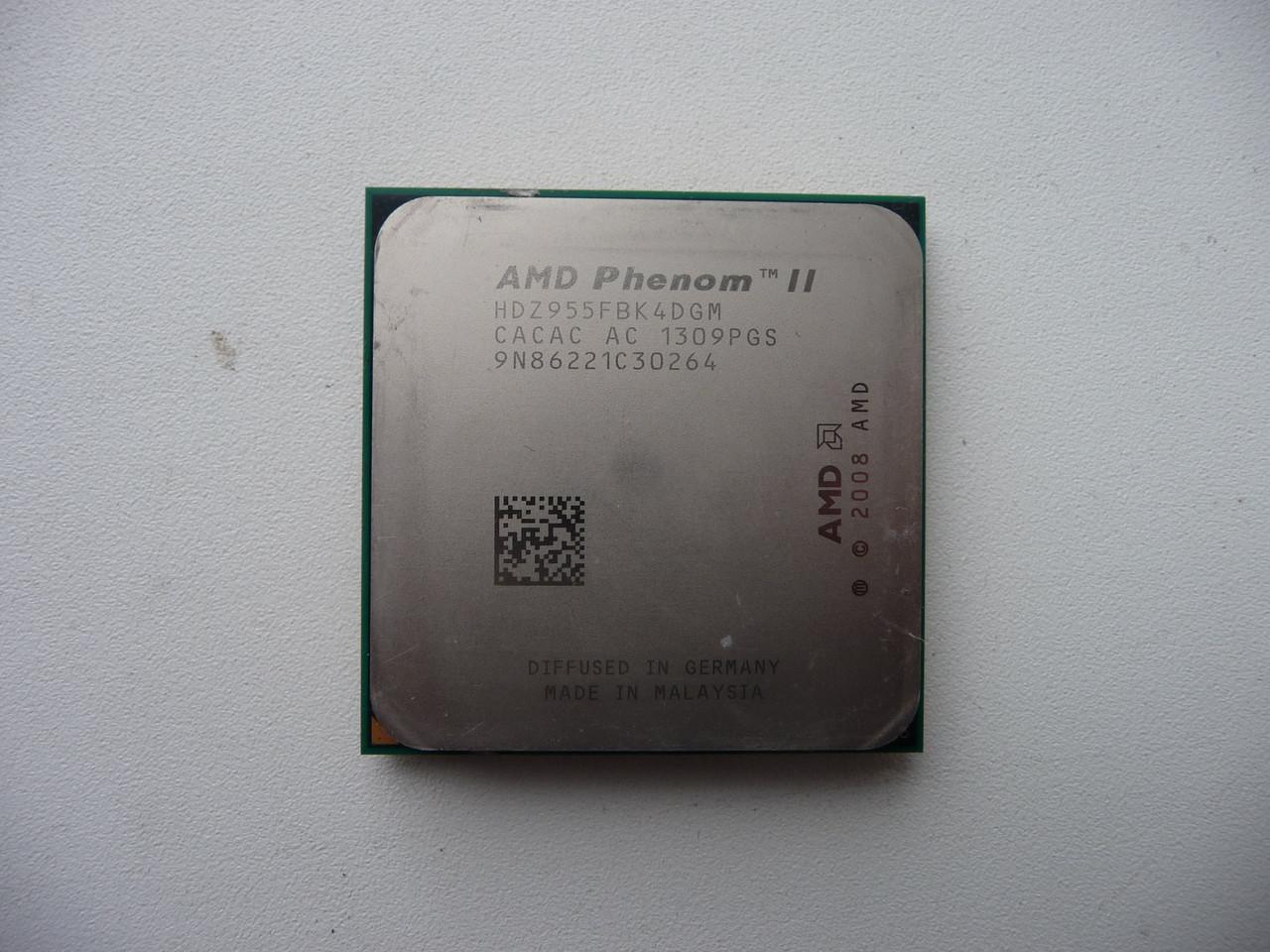 AMD Phenom II X4 955 Black Edition (HDZ955FBK4DGM)