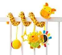 Подвеска-спираль на кроватку Жирафик Sensillo