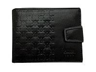Раскладной мужской кошелек из кожи. Мужское портмоне. Купить в интернет магазине. Код: КБН64