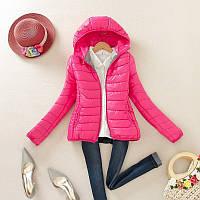 Куртка весна осень л размер розовый цвет