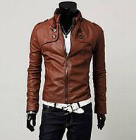 Размер М кожаная куртка мужская