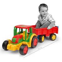Wader Детский трактор с прицепом 66100
