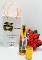 35мл Парфюм-спрей В ПОДАРОЧНОЙ упаковке The One Dolce&Gabbana (Ж)