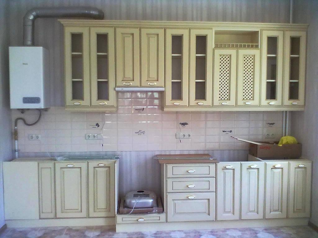 Кухни МДФ Краска 4