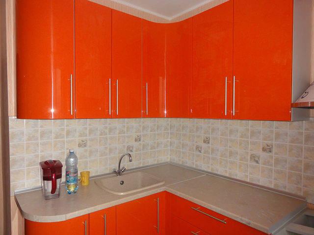 Кухни МДФ Краска 13