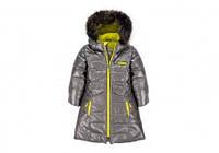 Зимнее пальто для девочки Deux par Deux P 920, цвет 964. Коллекция 2016! Размер: 3 (98-104см)