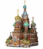 Картонная модель храм Спас-на-Крови 110 Умная бумага