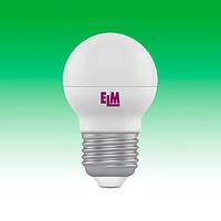 Светодиодная лампа LED 6W 4000K E27 ELM D45 (18-0041)