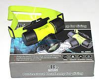 Подводный налобный фонарь 200 lm макс комплектация
