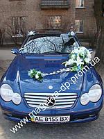 Прокат композиций на свадебное авто, цветочные композиции на прокат