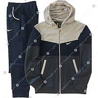 Подростковые спортивные костюмы Найк (хлопок с начесом)Украина.Купить подростковый спортивный костюм теплый.