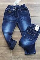 Утепленные джинсы на флисе для мальчиков 1- 2 года