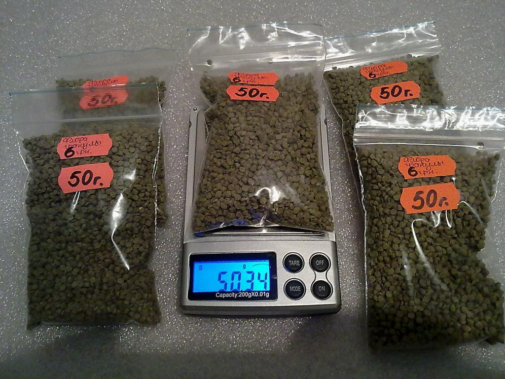 Комплект кормов для аквар.рыбок ФЛОРА-гранулы.