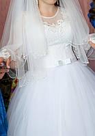 Красивое свадебное платье---Круги в подарок!!!