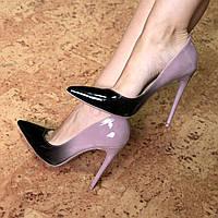 Туфли женские на шпильке Vices So Kate Лабутены омбре, CHRISTIAN LOUBOUTIN