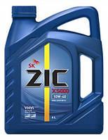 Моторное масло для TIR полусинтетика ZIC X5000 10W40 6L для грузовиков