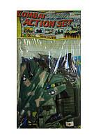Детский военный набор солдатики и техника