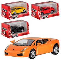 Машинка коллекционная Kinsmart Lamborghini Gallardo, 4 цвета (KT 5098 W)