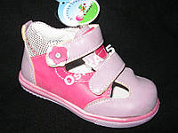 Туфли детские  летние Calorie для девочки р21сирен