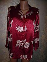 Шикарная! пижама. ночная рубашка! атлас