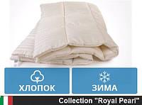 Одеяло MirSon двуспальное  хлопковое Зимнее 172 x205   Gold Silk Сатин 098