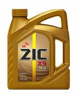 Моторное масло ZIC X9 XQ 5W40 4L синтетика