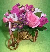 """Композиция букет цветы из конфет """"Романтическое приключение"""""""