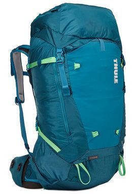 Стильный женский голубой туристический рюкзак Thule Versant 60L Woman`s Backpacking Pack, 211202, 60 л.