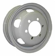 Стальные диски Кременчуг ГАЗ 3302 (Газель) R16 W5.5 PCD6x170 ET105 DIA130 (белый)