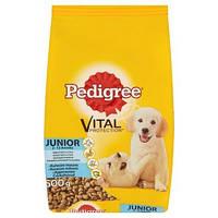 Pedigree (Педигри) Vital Protection Junior сухой корм с курицей и рисом для щенков  от 1 до 12 месяцев 7 кг