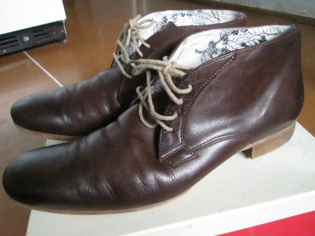 Туфлі мужские коричневі 44р офіс