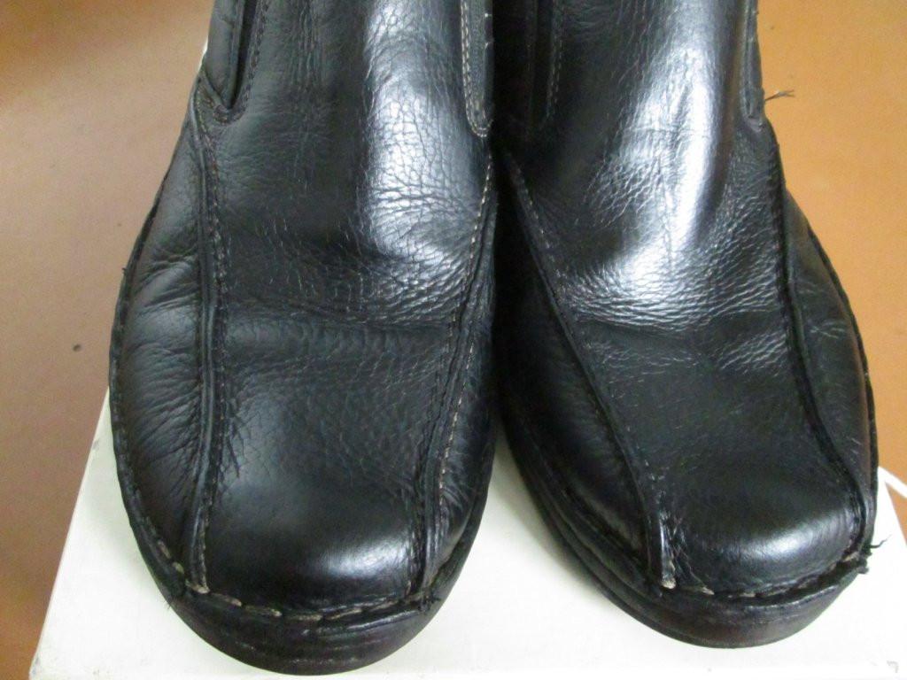 Clarks Мокасини-туфлі 43.5р кожа мягкие чорні