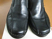 Мокасини-туфлі 43.5р кожа мягкие чорні